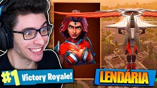 I BOUGHT THE WONDER WOMAN'S SKIN AND I KILLED GENERAL! Fortnite: Battle Royale