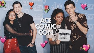 ACE COMIC CON 2018! // MEETING TOM, LAURA, AND JACOB