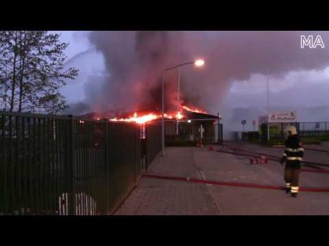Uitslaande brand Wervershoof