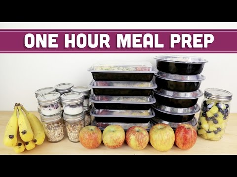 ONE HOUR Meal Prep For The Week! Mind Over Munch
