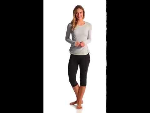 Lucy Women's Dashing Stripes LS Top | SwimOutlet.com
