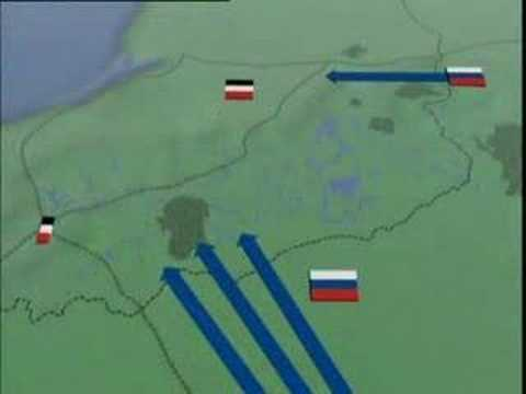 The Battle Of Tannenberg (WWI) - YouTube