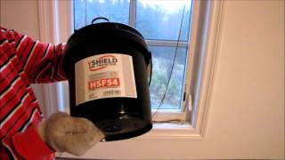 Shielding a Bedroom From EMF Emitted by Cell Towers Using YShield Paint