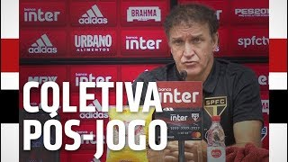 COLETIVA PÓS-JOGO: SPFC X BOTAFOGO (RJ)   SPFCTV