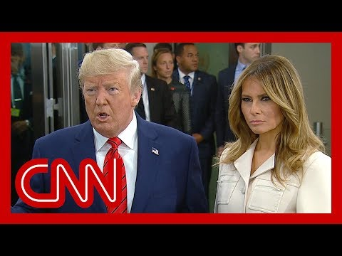 See Trump react to calls for impeachment