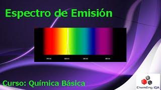 Espectro de Emisión // QB150