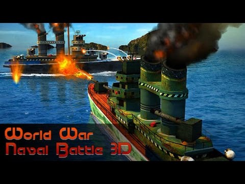 World war: Naval battle 3D - Android Game-play HD