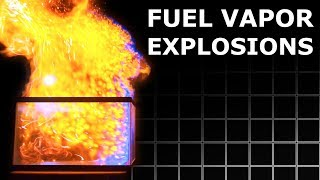 Experiments With Combustible Vapor