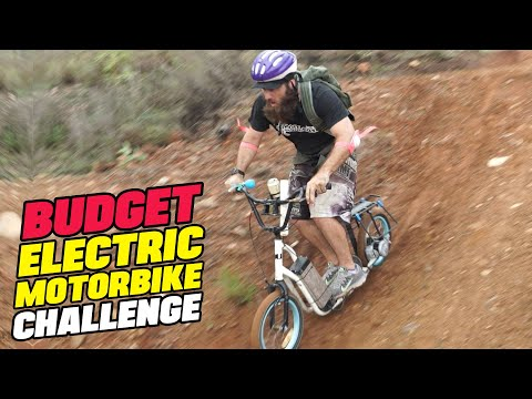 BUDGET ELECTRIC MOTORCYCLE CHALLENGE - Sick Puppy 4x4