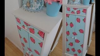 Diy - Furniture Revamping! Inspired By Vintage Flowers!