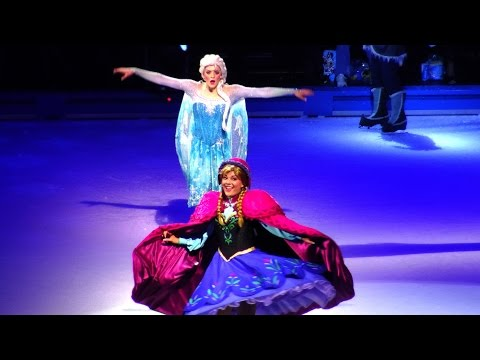 Disney On Ice Frozen LIVE & More Highlights - NEW 100 Years of Magic Show 2015