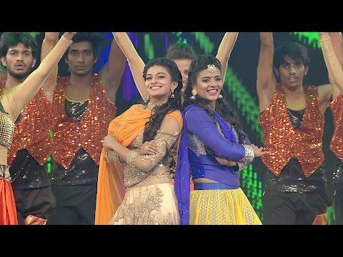 'Dancing Stars'-Aishwarya Rajesh, Anandhi | Ananda Vikatan Cinema Awards 2016