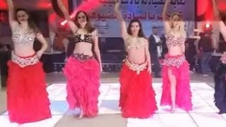 فيديو.. راقصات روسيات في حفل نقابة الصيادلة - E3lam.Org