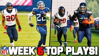 RECREATING THE TOP 10 PLAYS FROM NFL WEEK 6!! Madden 21 Challenge