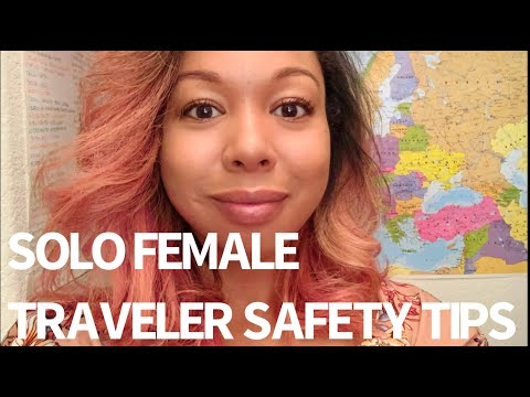 AMSTERDAM - WARNING! SOLO Female Travel SAFETY