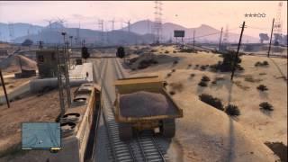 DUMP TRUCK VS TRAIN | GTA:5