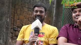 Ashok Raja At Peigal Jakkirathai Movie Team Interview