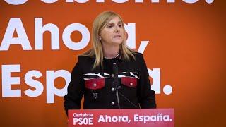 Noelia Cobo confirma que PSOE sigue en el Gobierno de Cantabria