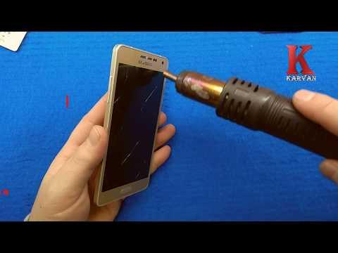 Разбор Samsung Galaxy A500 2015 Замена дисплея