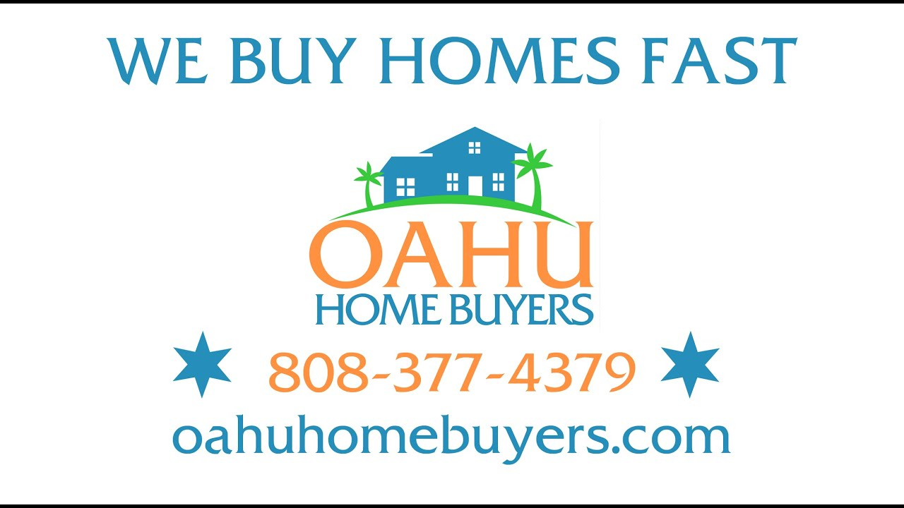 We Buy Homes in Hawaii - Sell Your House Fast