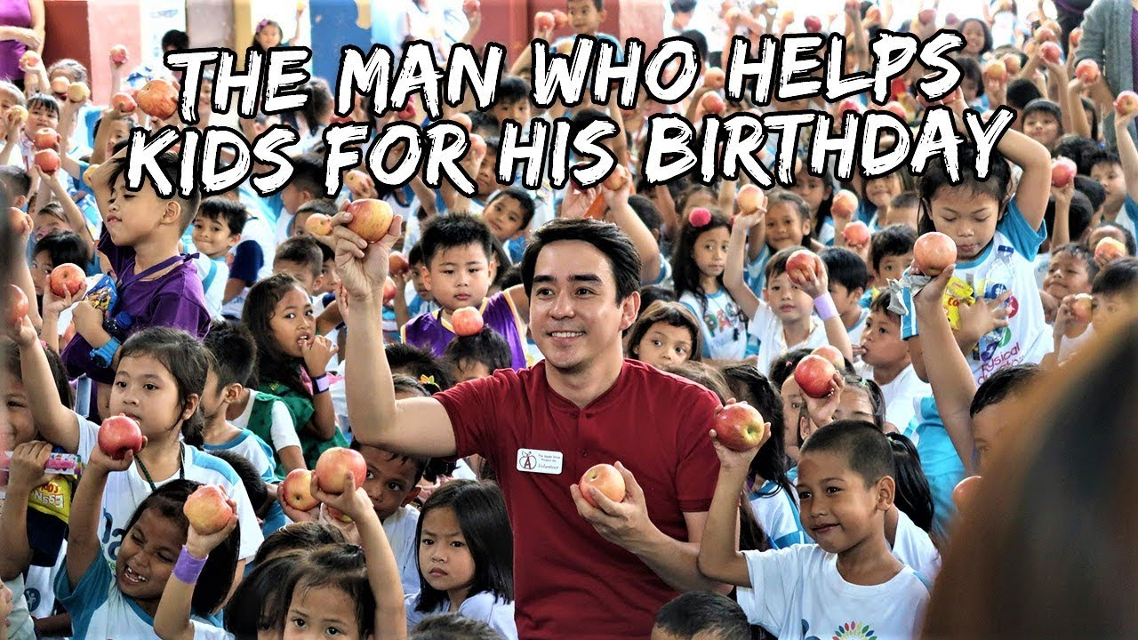 The Man Who Helps Kids For His Birthday | Vlog #430