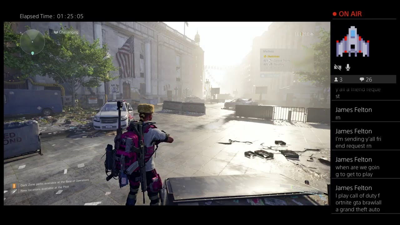 Eat A Dick Tom Clancy (The Division 2 Gameplay)