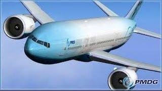 Полёт на PMDG Boeing 777-200LR. FSX.
