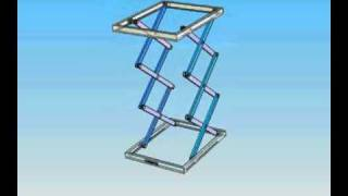 Hydraulic Lift,   Tri-o Cadd Nagercoil,marthandam Cad Animation Cell +919443281238.flv
