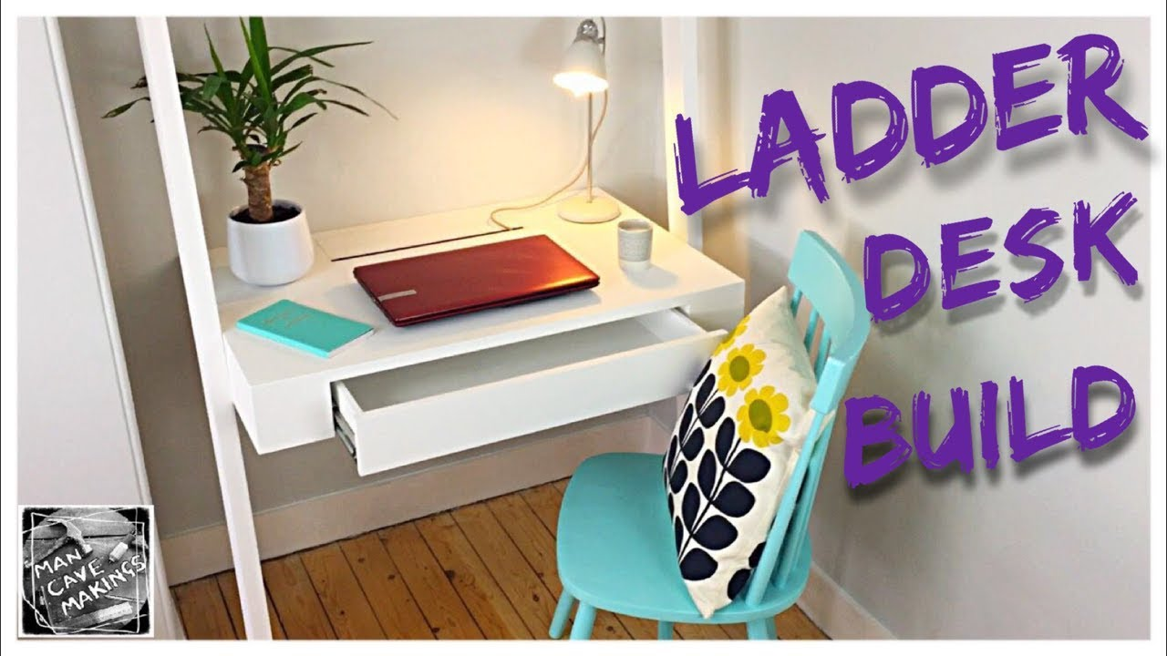 How To Make A Ladder Desk