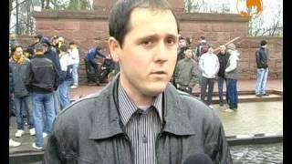 Марш фанатів ФК Буковина 10.04.10