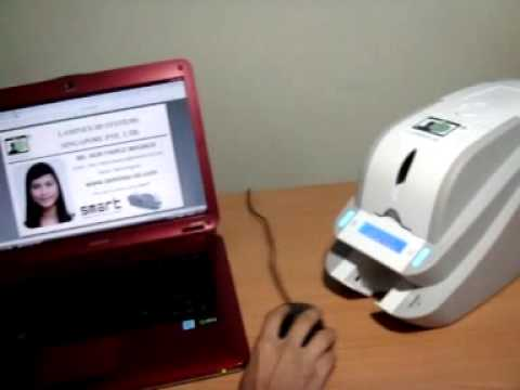 Smart card printer demo video youtube smart card printer demo video reheart Image collections