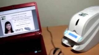 SMART Card Printer Demo Video