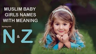 Islamic Baby Girl Names with Meaning/Selected Names For Baby Girl/latest Names/SSANN VLOGS screenshot 3