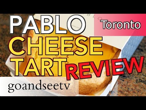 PABLO CHEESE TARTS ~ REVIEW: Should you go?  Toronto Canada Travel Guide ~ See Toronto Now!!