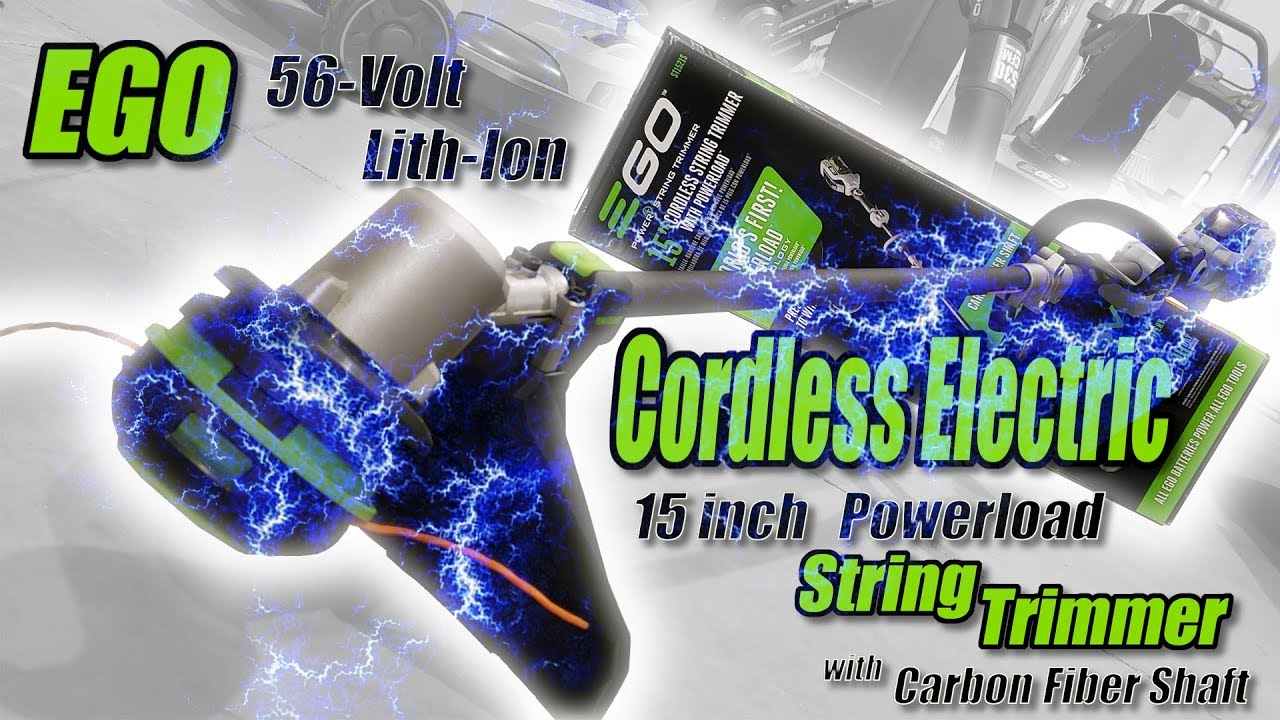 Ego Cordless Electric Powerload String Trimmer with Carbon Fiber Shaft  Review