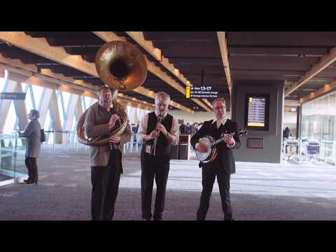 Random Act of Culture - Wellington Airport gets wild about jazz