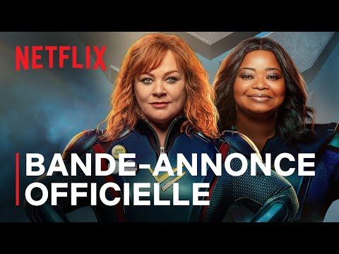 Thunder Force | Melissa McCarthy et Octavia Spencer | Bande-annonce VF | Netflix France