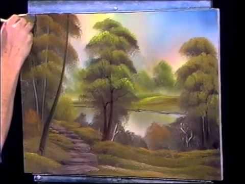 Bob Ross Gemälde Original