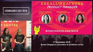 REALLIFEATWORK - CodingGirls Day 2018