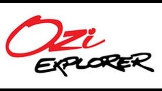 Установка OziExplorer на автонавигатор Windows CE