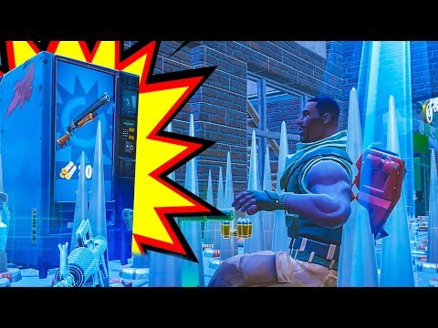 The *BEST* Vending Machine ONLY Challenge You Will EVER See! - Fortnite Battle Royale