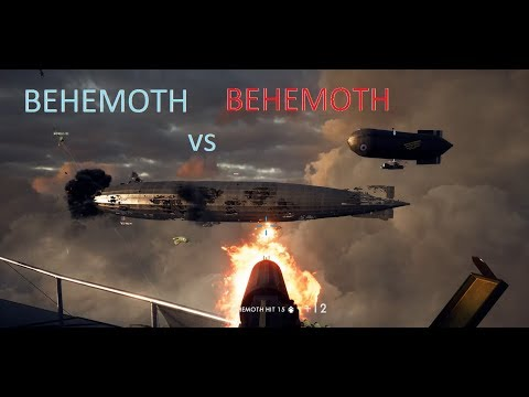 Behemoth vs Behemoth | London Calling : Raiders Air Assault map Battlefield 1 |