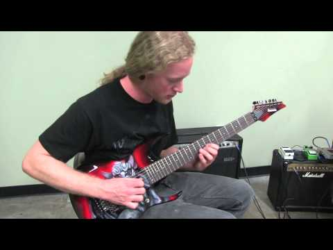 CARNIFEX - Dragged Into The Grave (GUITAR LESSON / DIE WITHOUT HOPE)