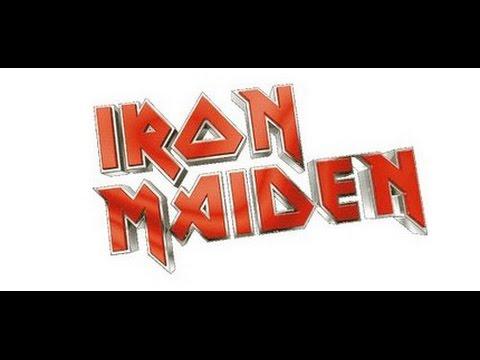 Iron Maiden - Women In Uniform (Skyhooks cover) Lyrics on screen