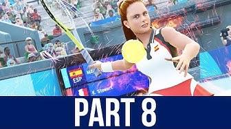 TOKYO 2020 Olympics Video Game Gameplay Part 8 - TENNIS