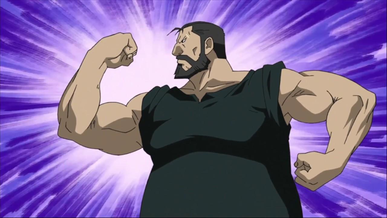 Fullmetal Alchemist: Brotherhood - Armstrong and Curtis vs ...
