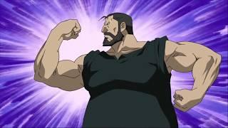 Fullmetal Alchemist: Brotherhood - Armstrong and Curtis vs Sloth