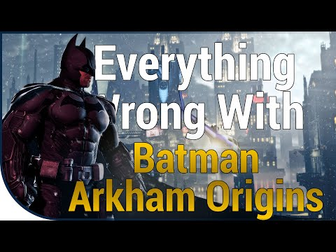 GAME SINS | Everything Wrong With Batman: Arkham Origins |