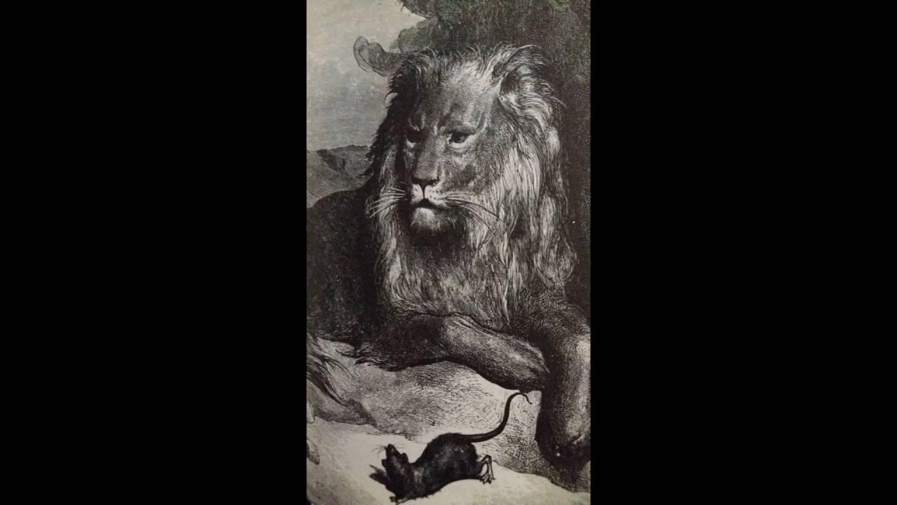 Fables de la fontaine le lion et le rat la colombe et - Image le lion et le rat ...