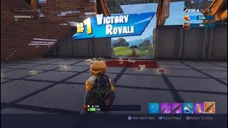 Fortnite VICTORY ROYALE in Food Fight. Another funny win